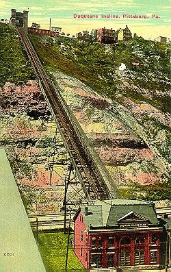 Duquesne Incline from an old postcard
