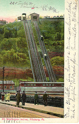 Both Mon Inclines, from an old postcard