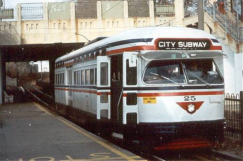 Trams Stop Here Newark City Subway Album Pcc Roster And